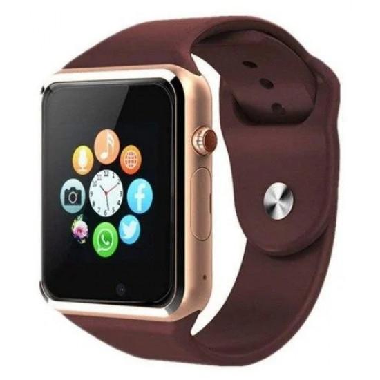 Смарт часы Smart Watch A1 (Золотой)