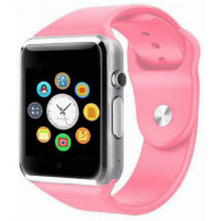 Смарт часы Smart Watch A1 (Розовый)