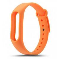 Ремешок для фитнес-трекера Xiaomi Mi Band 2 (Оранжевый)