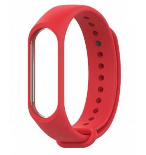 Ремешок для фитнес-трекера Xiaomi Mi Band 3/4 (Красный)