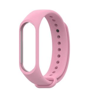 Ремешок для фитнес-трекера Xiaomi Mi Band 3/4 (Розовый)