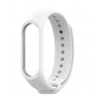 Ремешок для фитнес-трекера Xiaomi Mi Band 3/4 (Белый)
