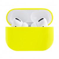 Силиконовый чехол Case Airpods PRO (Желтый)