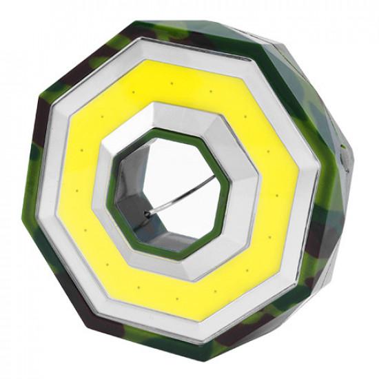 Фонарь кемпинг BL-983-COB, петля для подвеса, магнит, 3xAA