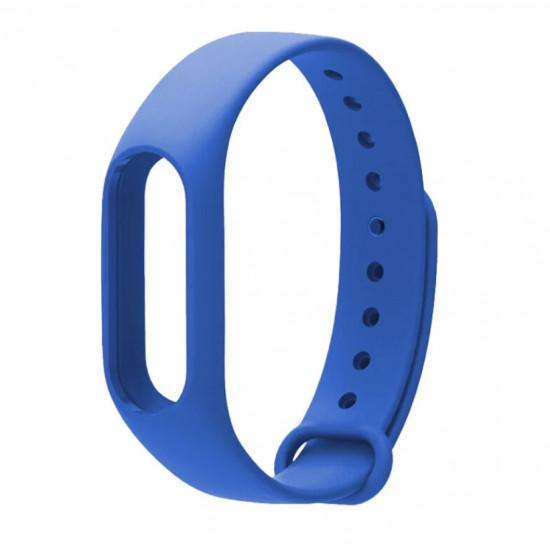 Ремешок для фитнес-трекера Xiaomi Mi Band 2 (Синий)
