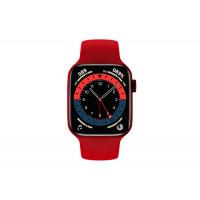 Умные часы Smart Watch Series 6 Aluminum Case (Красный)