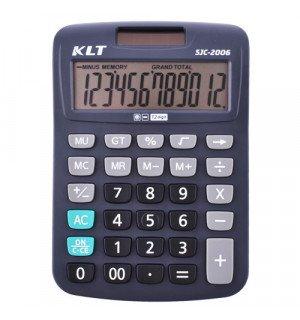 Калькулятор KLT SJC-2006-12, солнечная батарея