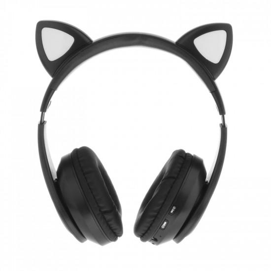 Беспроводные детские наушники Cat Ears P39 (Черный)