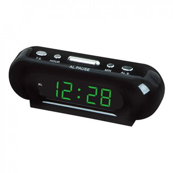 Часы сетевые VST-716-4 салатовые, 220V