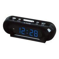 Часы сетевые VST-716-5 синие, 220V