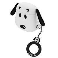 Силиконовый чехол для наушников Case AirPods Emoji (Snoopy)