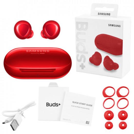 Беспроводные наушники Samsung Galaxy Buds+ (High Copy) (Красный)