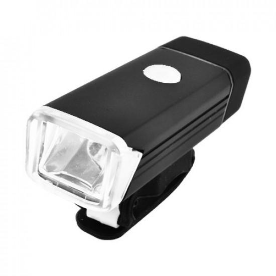 Фонарь велосипедный BST-001/2278-XPE, ЗУ micro USB, встроенный аккумулятор, алюмин, подсветка