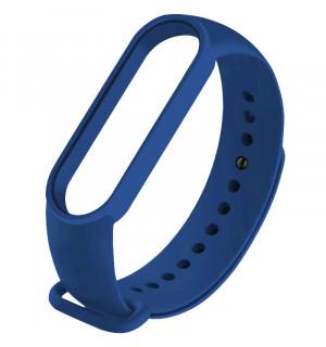 Ремешок для фитнес-трекера Xiaomi Mi Band 5 (Синий)