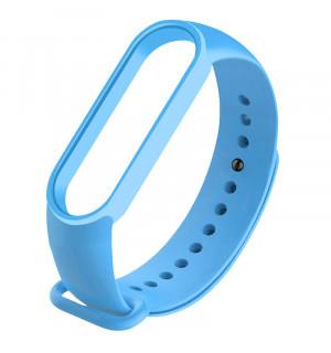 Ремешок для фитнес-трекера Xiaomi Mi Band 5 (Голубой)