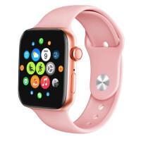 Умные часы Smart Watch T500 Plus (Розовый)