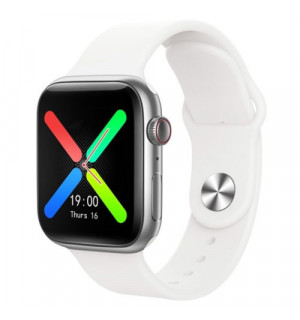 Умные часы Smart Watch T500 Plus (Белый)