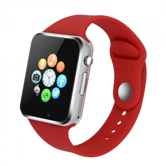 Смарт часы Smart Watch A1 (Красный)