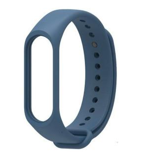 Ремешок для фитнес-трекера Xiaomi Mi Band 3/4 (Синий)