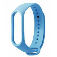 Ремешок для фитнес-трекера Xiaomi Mi Band 3/4 (Голубой)