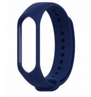 Ремешок для фитнес-трекера Xiaomi Mi Band 3/4 (Темно-синий)