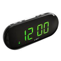 Часы сетевые VST-717-4 салатовые, USB