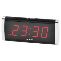 Часы сетевые 730-1 красные, 220V