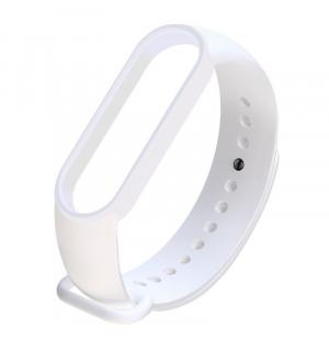 Ремешок для фитнес-трекера Xiaomi Mi Band 5 (Белый)