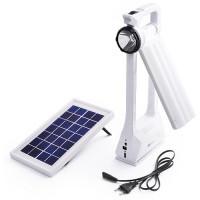 Фонарь светодиодный 6865 RT, 1W+66SMD, солнечная батарея, ЗУ 220V, встроенный аккумулятор