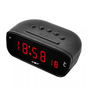 Автомобильные часы VST 803C-1 Красный