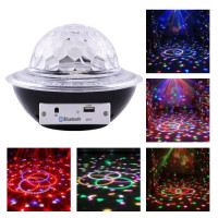 Лазер диско CY-6740 UFO Bluetooth crystal magic ball, 220V, пульт Д/У