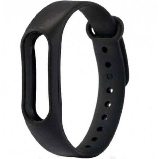 Ремешок для фитнес-трекера Xiaomi Mi Band 2 (Черный)