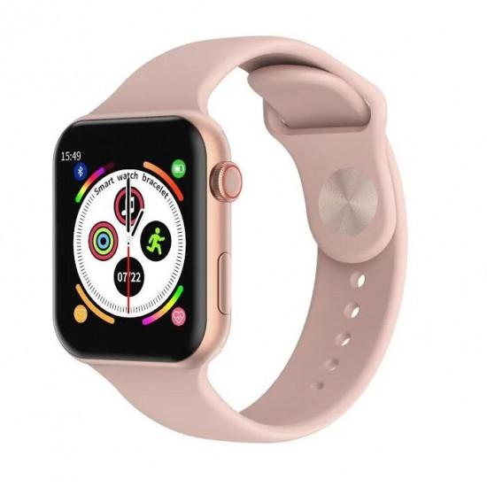 Умные часы Smart Watch T500 (Розовый)