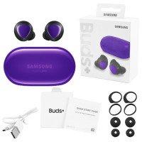 Беспроводные наушники Samsung Galaxy Buds+ (High Copy) (Фиолетовый)