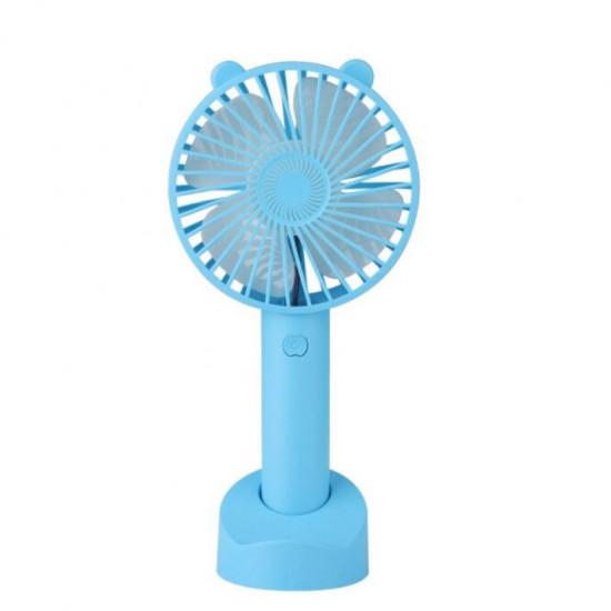 Настольный мини вентилятор kids series (Голубой)