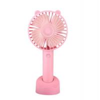 Настольный мини вентилятор kids series (Розовый)