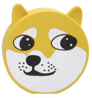 Power Bank Emoji Dog (8800mАh) USB 2A (Желтый)