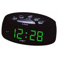 Часы сетевые VST-773-4, зеленые, USB