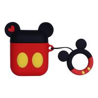 Силиконовый чехол для наушников Case AirPods Emoji (Mickey Mouse)