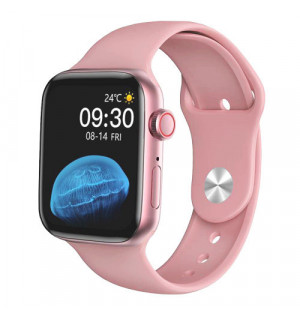 Умные часы Smart Watch HW22 (Розовый)