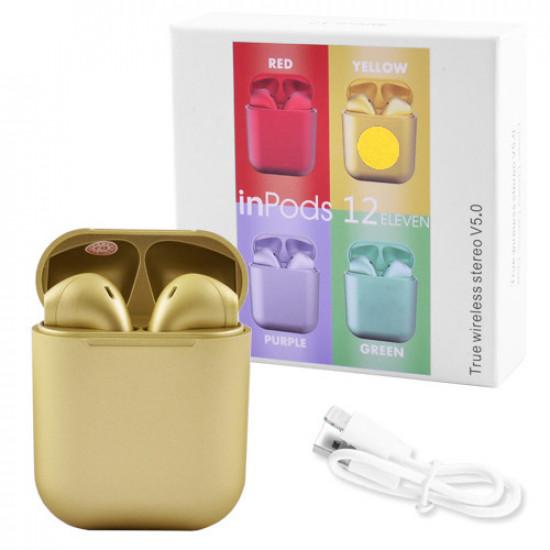 Беспроводные наушники inPods 12 Gold (Желтый)