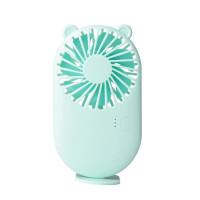Настольный мини вентилятор Cat's ears (Мятный)