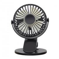 Вентилятор на прищепке XH-09 (Черный)