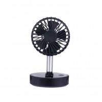 Настольный мини вентилятор F6 (Черный)