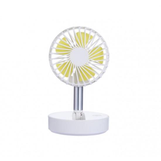 Настольный мини вентилятор F6 (Белый)