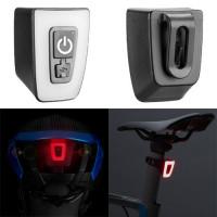 Фонарь велосипедный габаритный T11-15LED, ЗУ micro USB, встроенный аккумулятор, влагозащита IPx5