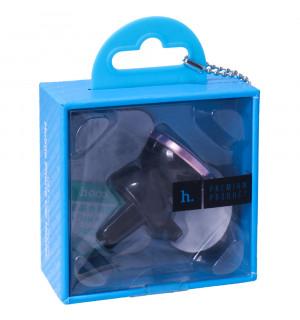 Автодержатель Hoco CA3 Outlet Magnetic Vehicle Holder Серый