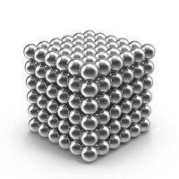 Нео куб Neo Cube 5мм (Серебряный)
