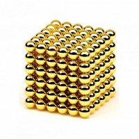 Нео куб Neo Cube 5мм (Золотой)