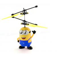 Летающий миньон JM-388 интерактивная игрушка-вертолёт